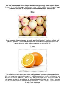 Benefits of fruits on skin apk screenshot