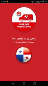 Huawei Consumer Postal Repair apk screenshot