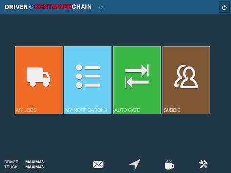 Mobility@Containerchain apk screenshot
