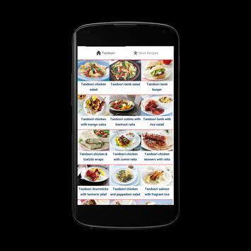 Tandoori Recipes apk screenshot