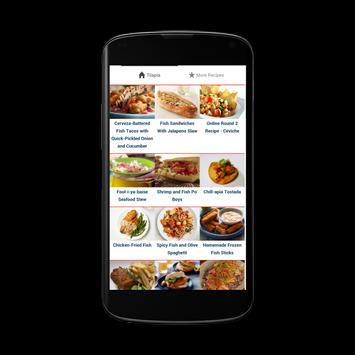 Tilapia Recipes apk screenshot