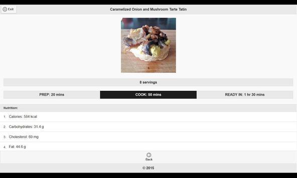 CookBook: Appetizers Recipes apk screenshot