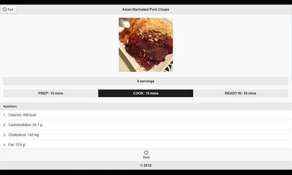 CookBook: BBQ Recipes 5 apk screenshot