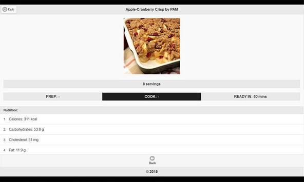 CookBook: Dessert Recipes 5 apk screenshot