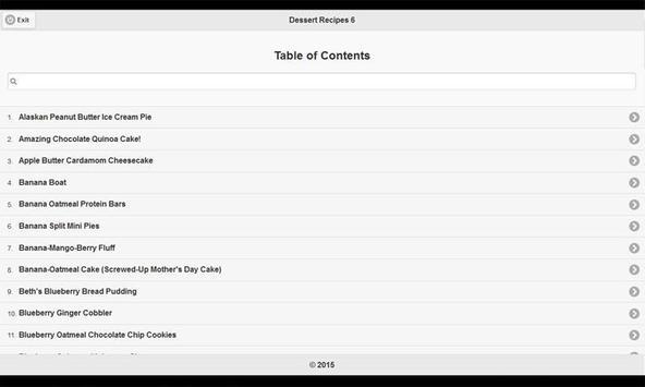 CookBook: Dessert Recipes 6 apk screenshot