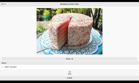 CookBook Resep Kue & Camilan 3 apk screenshot