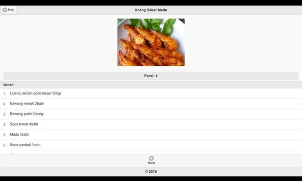 CookBook: Resep Seafood Seri 2 apk screenshot