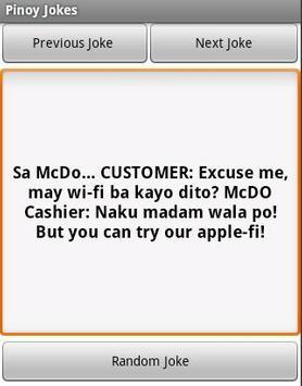 Pinoy Jokes apk screenshot
