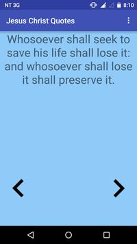 Jesus Christ Bible Quotes apk screenshot