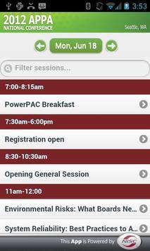 APPA National Conference apk screenshot