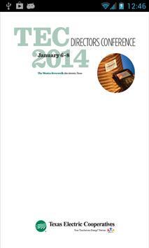 TEC Directors 2014 poster