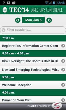 TEC Directors 2014 apk screenshot