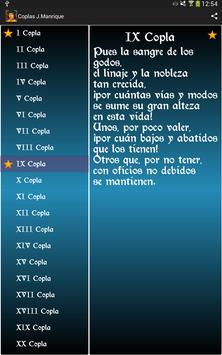 Coplas de Jorge Manrique apk screenshot