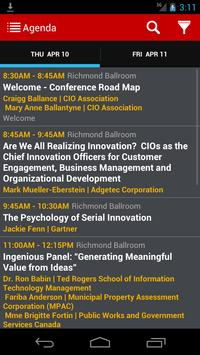 CIO Peer Forum 2014 apk screenshot