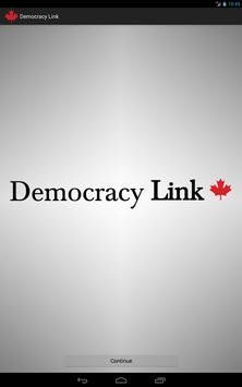 Democracy Link poster