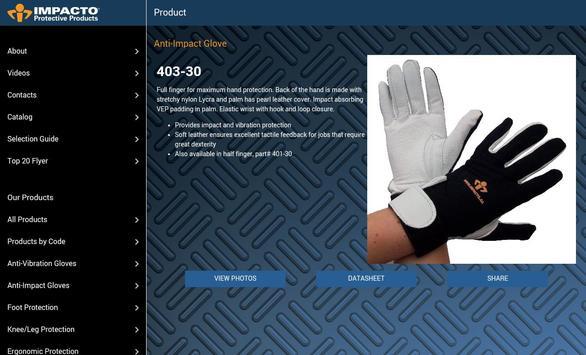 Impacto Protective Products apk screenshot