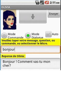 OLIVIA ASSISTANT apk screenshot
