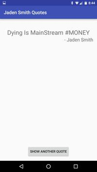 Jaden Smith Quotes apk screenshot