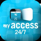 myaccess 24/7 icon