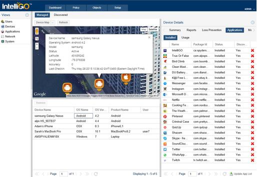 IntelliGO Agent apk screenshot