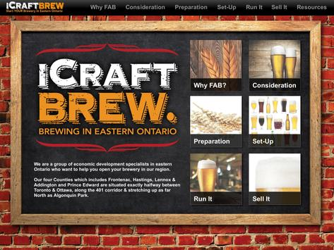 iCraftBrew-Craft Brewing Guide poster