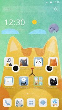 Cute Cat Catch poster