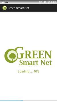 Green Smart Net poster