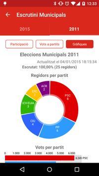 Rubí eleccions apk screenshot