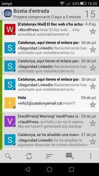 Catalunya Mail apk screenshot
