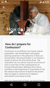 Catholic Confession Guide apk screenshot