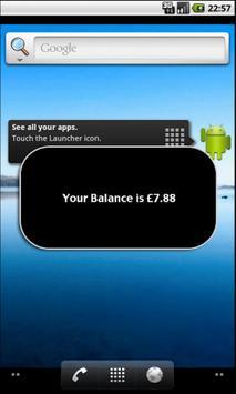 Check Balance apk screenshot