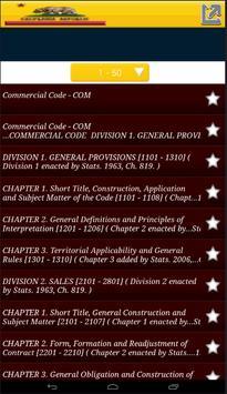 Commercial code apk screenshot