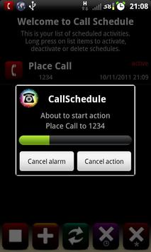 Call Schedule Lite apk screenshot