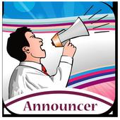 Name speaker for caller's icon