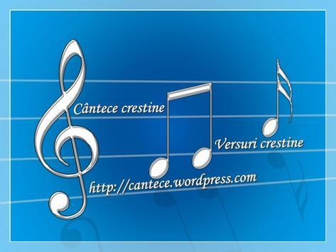 Cantece crestine poster