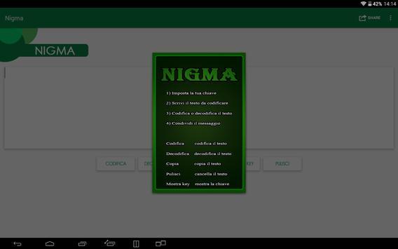 Nigma Cypher apk screenshot