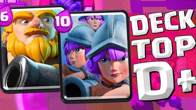 Decks for Clash Royale apk screenshot