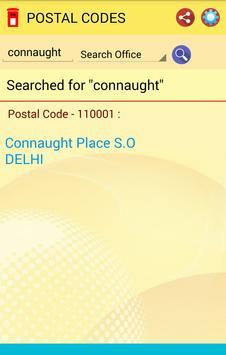 Postal Code Pin Code apk screenshot