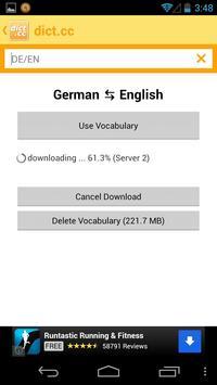dict.cc dictionary apk screenshot