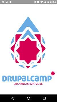 Drupalcamp Spain 2016 poster
