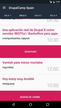 Drupalcamp Spain 2016 apk screenshot