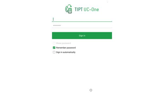 TIPT UC-One for Tablet poster