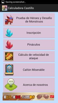 Clash Calculator in Spanish poster