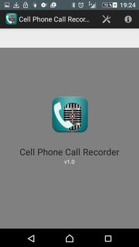 cell phone call recorder apk screenshot