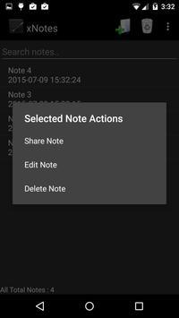 xNotes Secure Notepad apk screenshot