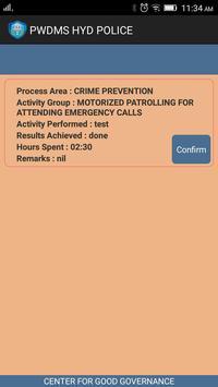HYDERABAD POLICE - PWFMS apk screenshot