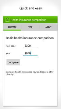 Health Insurance Comparison poster