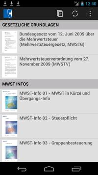 MWST-Infos poster