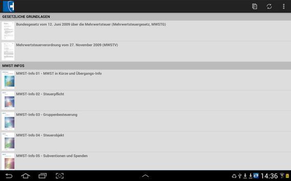 MWST-Infos apk screenshot