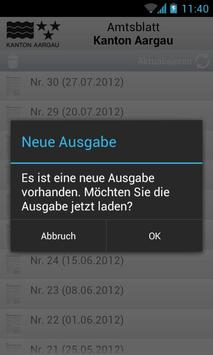Amtsblatt AG apk screenshot